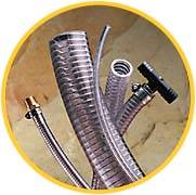 VARDEX - Clear Steel Wire Reinforced PVC Suction Hose